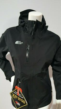 NEW THE NORTH FACE WOMEN'S DRYZZLE BLACK GORE-TEX JACKET SIZ