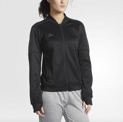 NEW Women's Adidas Team Issue Bomber Jacket Color: Black Siz