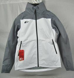 North Face RESOLVE PLUS Jacket WHITE Mid Grey AUTHENTIC DryV