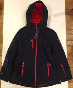 NWT Tommy Hilfiger Women's 3-in-1 System Jacket Navy LARGE H