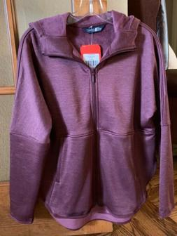 NWT The North Face Women's Cozy Slacker, Fig Heather, Full Z