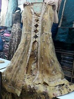 On Sale Discount Readymade Stitched Anarkali Gown Free Shipp