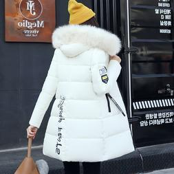 Parka <font><b>Women</b></font> 2019 Winter Coats Long Cotto