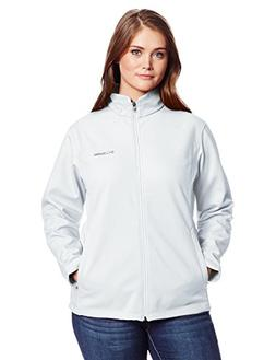 Columbia Women's Plus-Size Kruser Ridge Softshell Plus, Whit