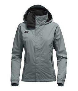 The North Face Women's Resolve 2 Jacket - Mid Grey & TNF Bla