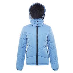 Rokka&Rolla Women's Heavy Padded Water-Resistant Hooded Thic