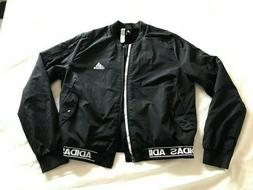 Adidas Sport Id Woven Bomber Womens Med Jacket Black ce2535