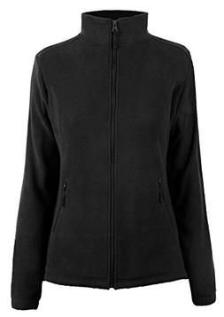 iLoveSIA Women's Spring Warm Slim Fit Full Zip Fleece Jacket