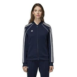 adidas Originals Women's Superstar Tracktop, Collegiate Navy
