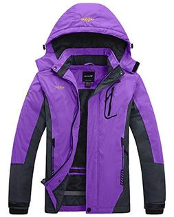 Cloudy Walker Women's Waterproof Mountain Jacket Fleece Wind