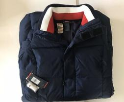 Tommy Hilfiger Winter Jacket Long Puffer Coat Navy Blue Wome