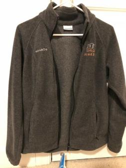 Columbia Woman's Fleece - Small dark grey - Benton Springs F