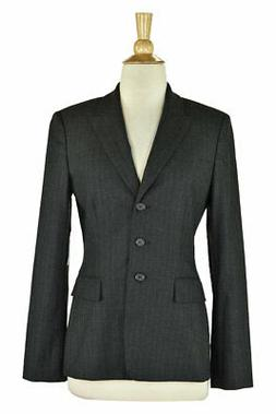 Tahari Women Coats & Jackets Blazers 4 Grey Rayon