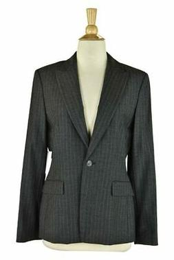 Tahari Women Coats & Jackets Blazers 6 Grey Wool