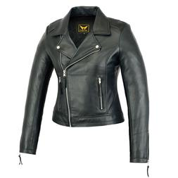 Women Genuine Sheep Motorcycle Casual Soft Light Weight Leat