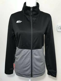 The North Face Women's 100 Cinder Full Zip Up Jacket TNF Bla