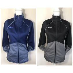 The North Face Women's 100 Cinder Zip Up Jacket Black Blue X