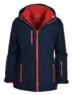 Tommy Hilfiger Women's 3-in-1 All Weather Systems Jacket - L