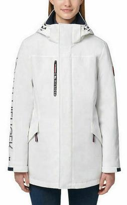 Tommy Hilfiger Women's  3-In-1 Systems Jacket, White, Size M