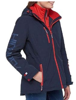 Tommy Hilfiger Women's  3-In-1 Systems Jacket, NavyFire, Siz