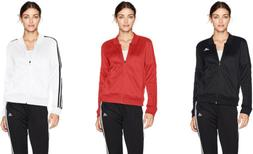 adidas Women's Athletics Tricot Snap Track Jacket, 3 Colors