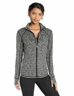 Amazon Essentials Women's Brushed Tech Stretch Full-Zip Jack