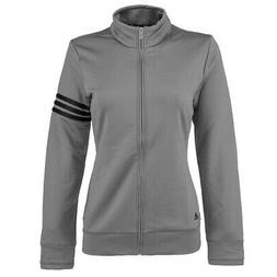 adidas Women's Climalite 3-Stripe Full Zip Jacket