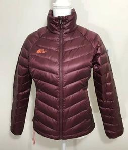 The North Face Women's Flare Down Jacket Deep Garnet Red XS
