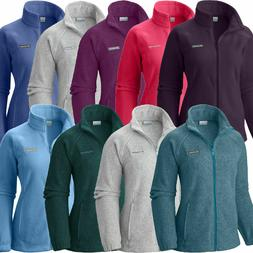 Columbia Women's Fleece Jacket Benton Springs Full Zip 13721