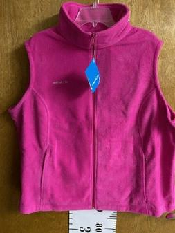 Columbia Women's Fleece Vest or Pants Size 2X
