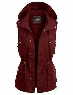 women s jacket red size large l