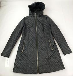 Via Spiga Women's Lightweight Quilted Jacket with Side Tabs,
