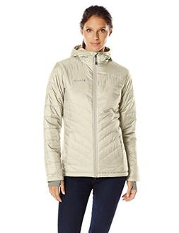 Columbia Women's Mighty Lite Hooded Plush Jacket, Chalk, X-L