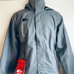 The North Face Women's Resolve 2 Jacket Mid Grey & TNF Black