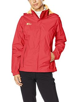 The North Face Women's Resolve Jacket, Melon Red, XS