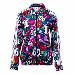 Adidas Women's SST Track Jacket Multicolor DV2659