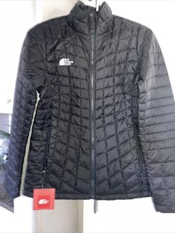 The North Face Women's Thermoball Full Zip Jacket Black Size