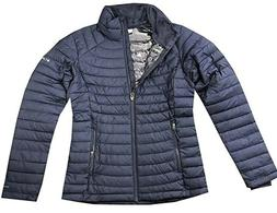 Columbia Women's Puffer Jacket White Out ll Omni Heat ~ Size