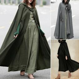 ZANZEA Women Winter Solid Hoodies Hooded Jacket Coat Long Ca