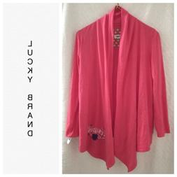 LUCKY Brand womens Coral cardigan top jacket sz S NWT