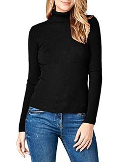 NE PEOPLE Womens Light Weight Basic Long Sleeve Turtle Neck