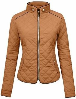 NE PEOPLE Womens Lightweight Quilted Zip Jacket/Vest Newj22-