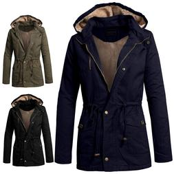 NE PEOPLE Womens Military Casual Daily Anorak Jacket