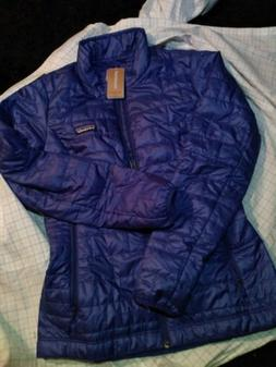Patagonia Women's Nano Puff Jacket Cobalt Blue Xtra Small