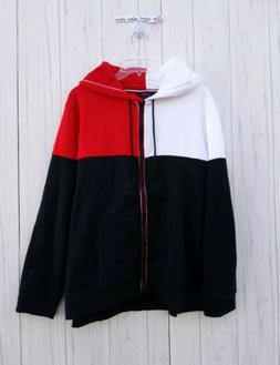 XXL WOMEN'S Tommy Hilfiger CLASSIC color  Jacket hoodie blac